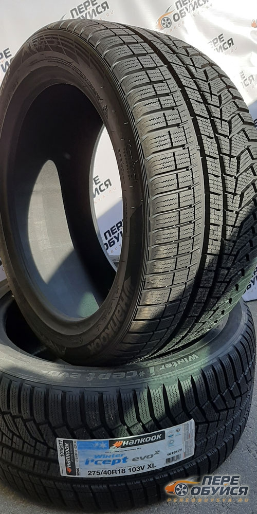 Фотообзор шины Hankook (Ханкук) Winter icept Evo 2 W320